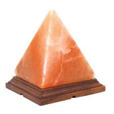 Himalájai sókristály lámpa – piramis (kb. 2 kg) GYVSL02