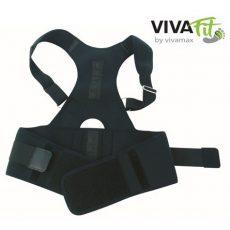 VivaFit mágneses tartásjavító háttámasz turmalinnal GYVFMTHS