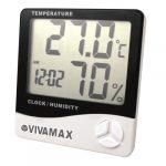Vivamax Páratartalom- és hőmérőc GYVPM