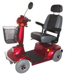 EL-GO/M Elektromos meghajtású négykerekű moped