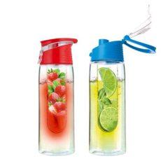 VIVAMAX Limonádé készítő palack (kék piros) 750 ml GYVL1